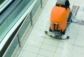 Cleaning a floor in Perth